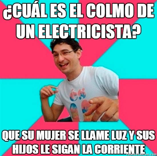 Bad_joke_deivid - Los problemas de los electricistas