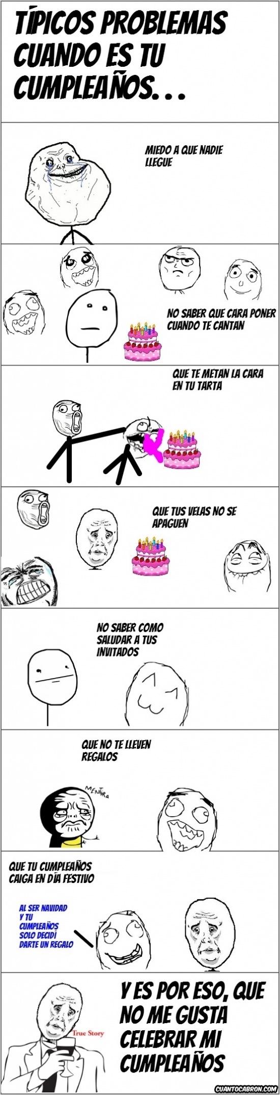 Mix - Prefiero no celebrar mi cumpleaños por varias razones