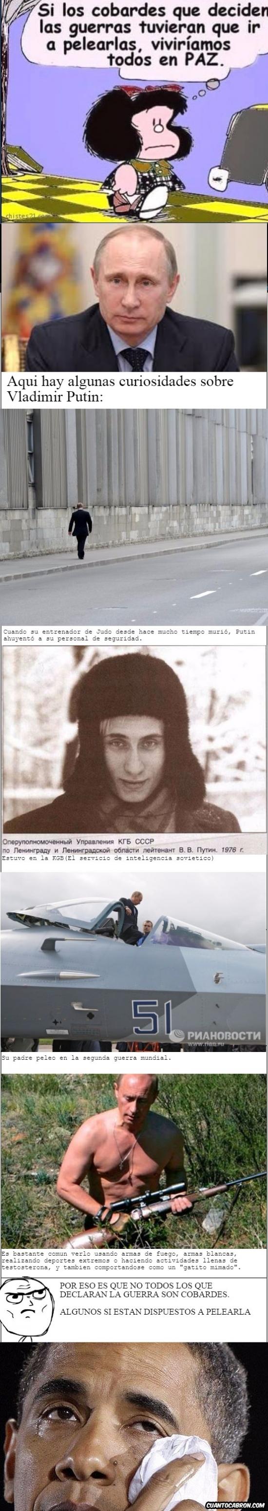 Otros - Putin, de todos los seres humanos, el más temible en todos los sentidos