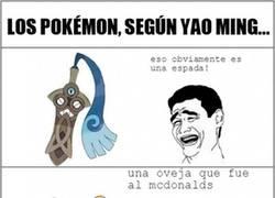 Enlace a Los Pokémon según Yao Ming