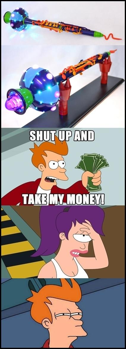 Fry - Ahora puedes comprar un Holorofono