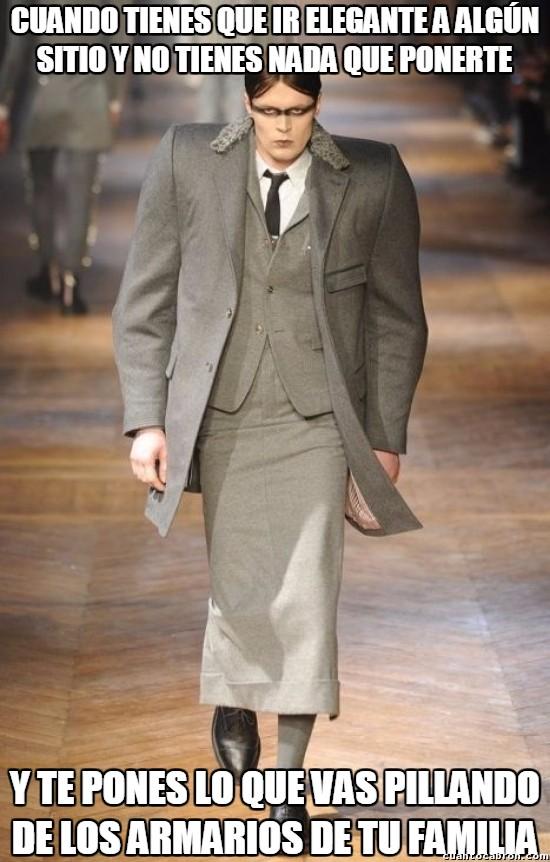 Meme_otros - ¿Problemas con la ropa para ir elegante? No te preocupes, para esto está la familia