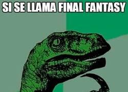 Enlace a Va a resultar que de Final Fantasy solo tiene el Fantasy