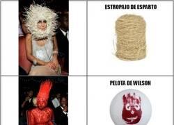 Enlace a Y aquí tenemos las inspiraciones modelísticas de Lady Gaga