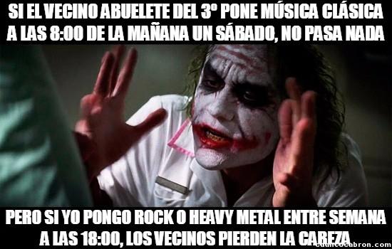 Joker - Hay estilos musicales que siempre estarán mal vistos aunque los escuches a una hora razonable