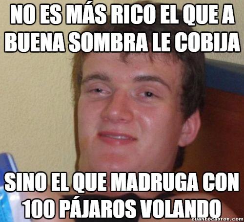 Colega_fumado - No hay nada que no pueda resolver el refranero español