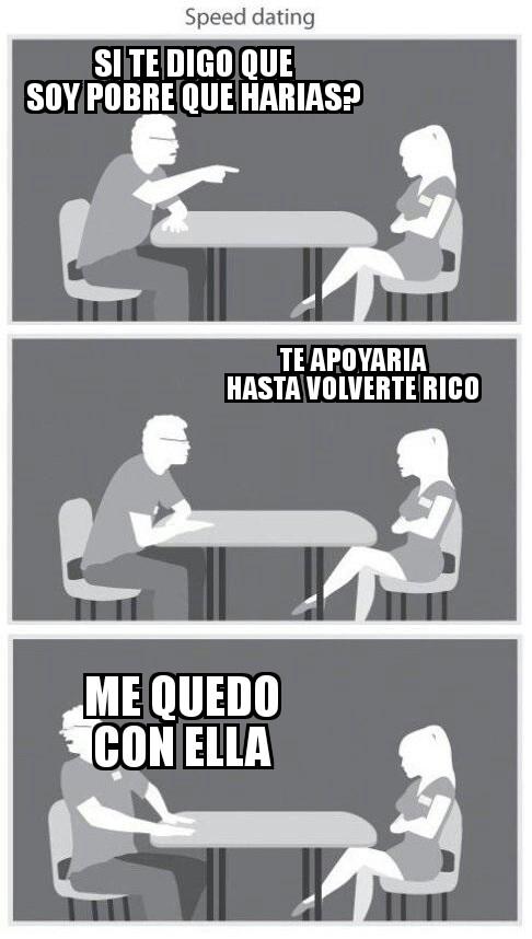Meme_otros - Si pudiera conocer una mujer así...