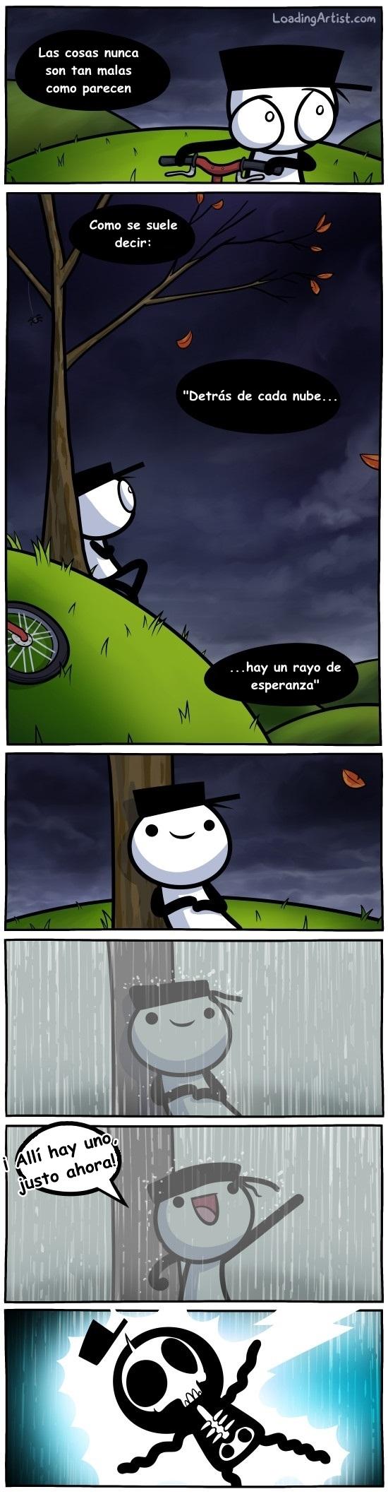 Otros - Siempre hay un rayo de esperanza, siempre