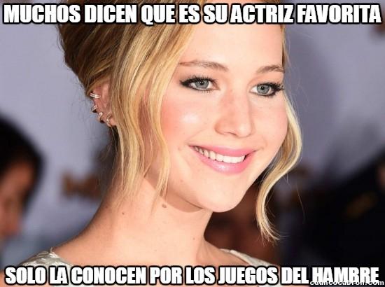 Meme_otros - Dime tres películas que haya hecho Jennifer Lawrence