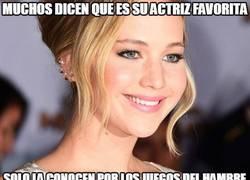 Enlace a Dime tres películas que haya hecho Jennifer Lawrence