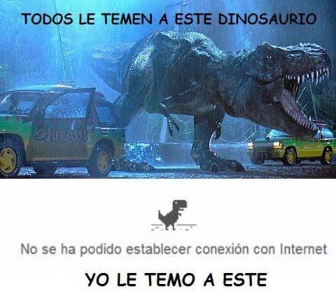 Meme_otros - El dinosaurio más terrorífico que ha existido