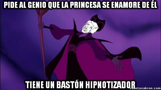 Meme_otros - Creo que Jafar no pensaba a la hora de elegir deseos