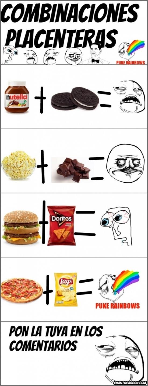Me_gusta - Combinaciones increíbles de comida, ¿te gusta alguna?