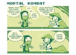 Enlace a Triste realidad en Mortal Kombat