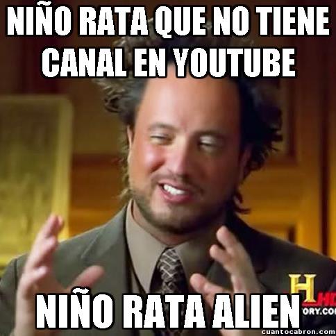 Ancient_aliens - Todos quieren ser youtubers
