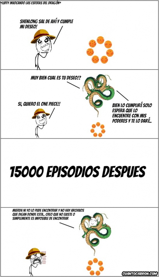 Ffffuuuuuuuuuu - Encontrar el One Piece es algo imposible
