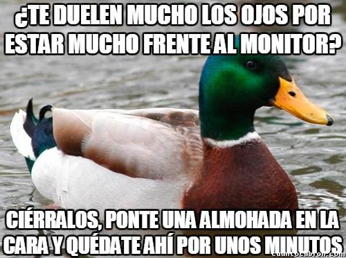 Pato_consejero - Cuando juegues mucho, ya sabes...