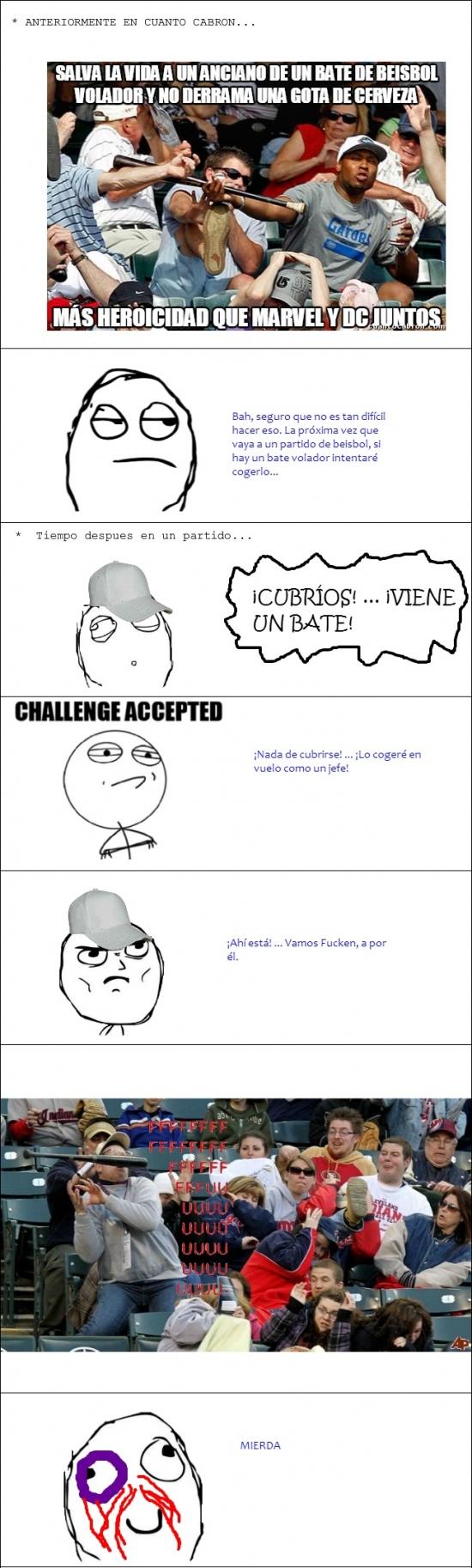 Challenge_accepted - No es buena idea tratar de imitar todo lo que ves en Internet