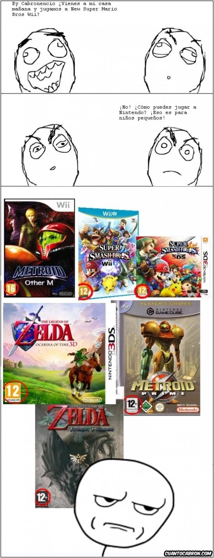 Kidding_me - ¿Nintendo es para niños pequeños?