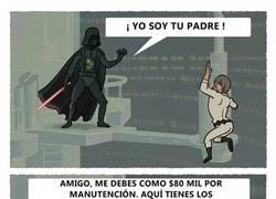 Enlace a Así hubiera acabado la historia entre Darth Vader y Luke Skywalker si hubiera ocurrido hoy en día