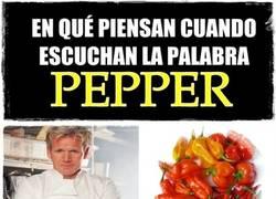 Enlace a PEPPER hace referencia a muchas cosas y cada uno decide cuál es la suya
