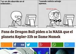 Enlace a ¡Esperemos que la NASA escuche nuestras peticiones!
