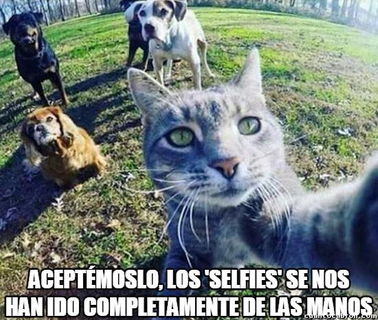Meme_otros - Se nos ha ido la olla con eso de los selfies, a todos