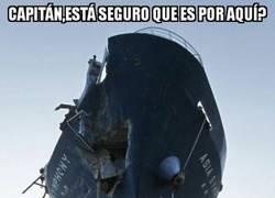 Enlace a El típico barco tripulado por un capitán algo terco