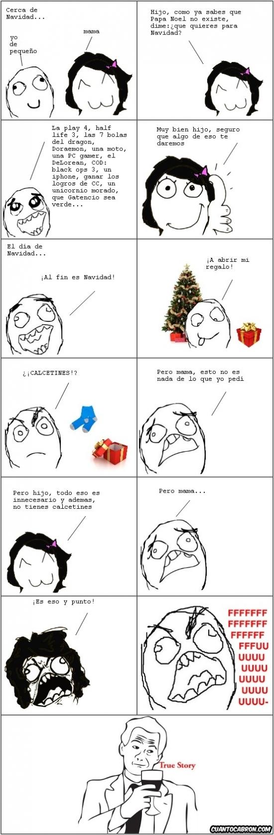 Ffffuuuuuuuuuu - Todos los años igual con los regalos