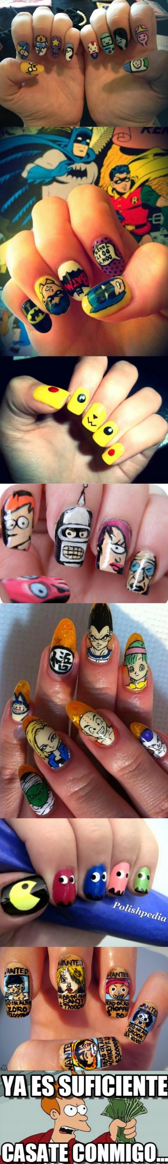Fry - Si ves a alguien con estas uñas, no la dejes ir