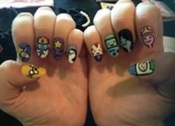 Enlace a Si ves a alguien con estas uñas, no la dejes ir