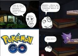 Enlace a Mejor no jugar a Pokémon GO dentro de tu casa, solo por si acaso