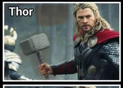 Enlace a Una foto de Thor da mucho juego