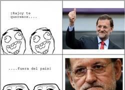 Enlace a ¡Rajoy, te queremos! Wait for it...