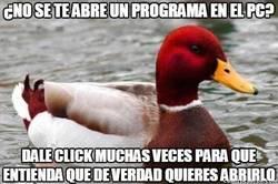 Enlace a Este pato sabe lo que Windows necesita para funcionar bien