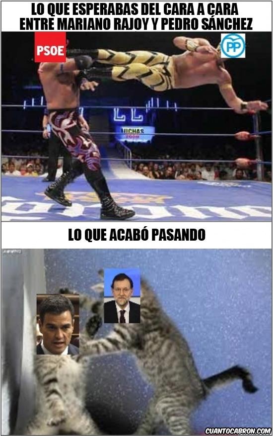 Otros - Resumen rápido del cara a cara entre Rajoy y Sánchez