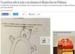 Enlace a Si vas a dibujar un Pokémon, haz uno que sea reconocible