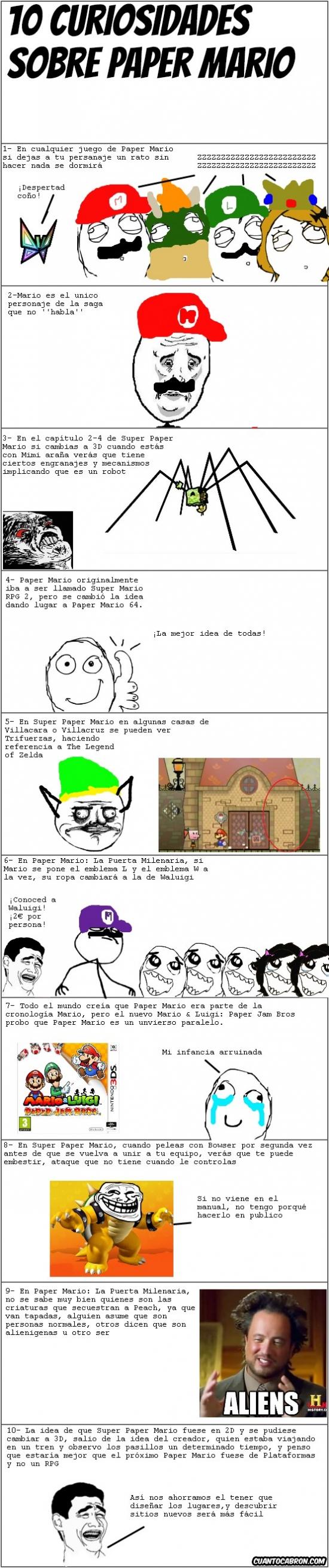 Mix - 10 curiosidades de nuestro Mario de papel