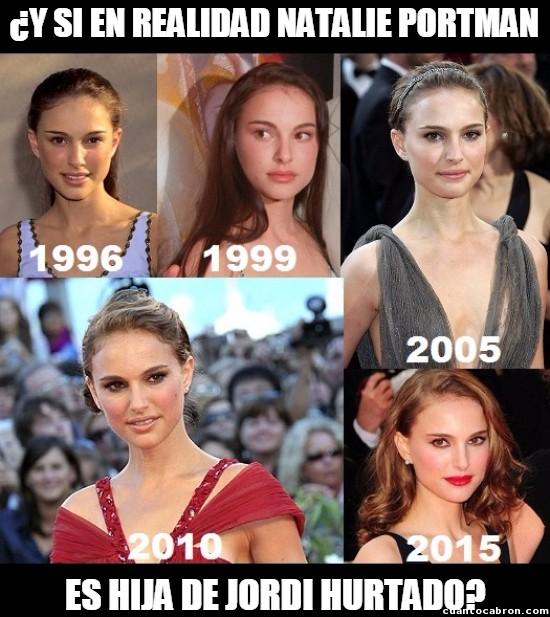 Meme_otros - ¿Tendrán algún parentesco familiar Natalie Portman y Jordi Hurtado?