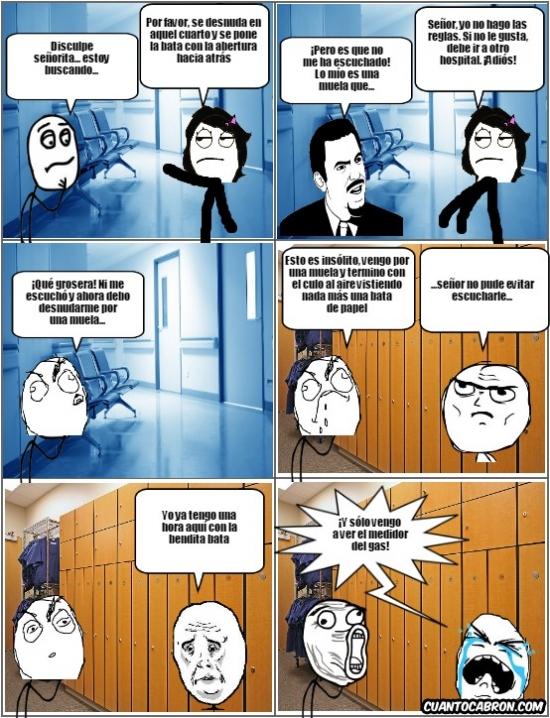 Lol - Férrea política hospitalaria