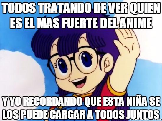 Meme_otros - Saitama, Goku, ¿no os estáis olvidando de alguien?
