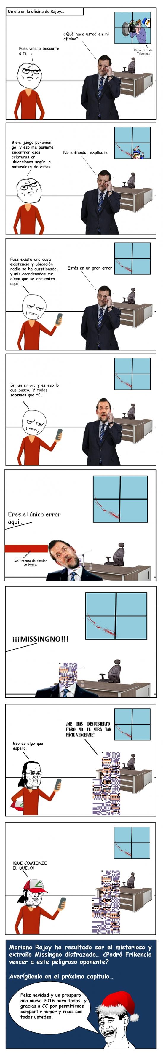 Friki - Rajoy, un error sin sospechar
