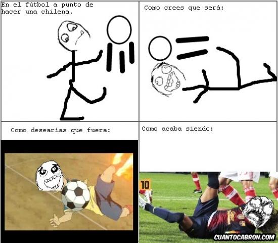 Ffffuuuuuuuuuu - La realidad de los mancos del fútbol