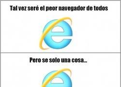 Enlace a Te debemos mucho, Internet Explorer