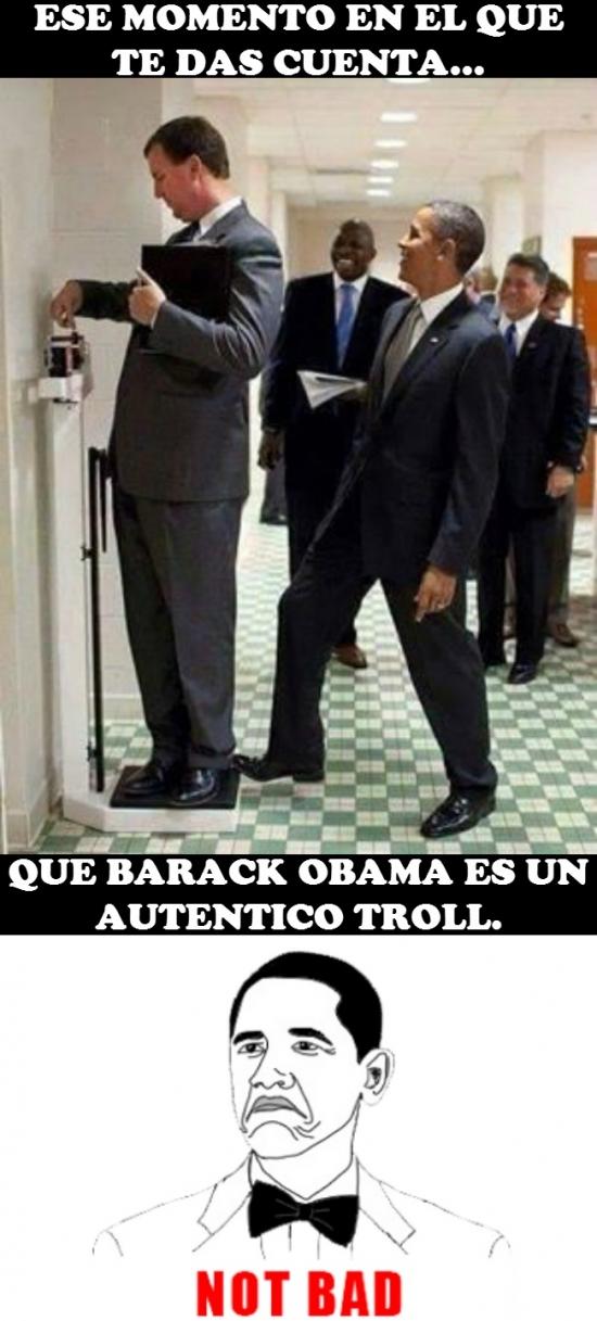 Not_bad - Obama tiene su propio meme y no se merece menos
