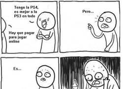 Enlace a Mi problema con la PS4