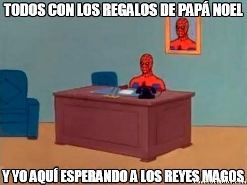 Spiderman60s - ¿Reyes Magos o Papá Noel?