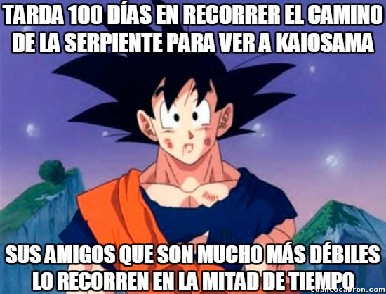 Son_goku - Sin duda alguna Goku sorprende, pero lo superan a veces