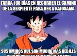 Enlace a Sin duda alguna Goku sorprende, pero lo superan a veces
