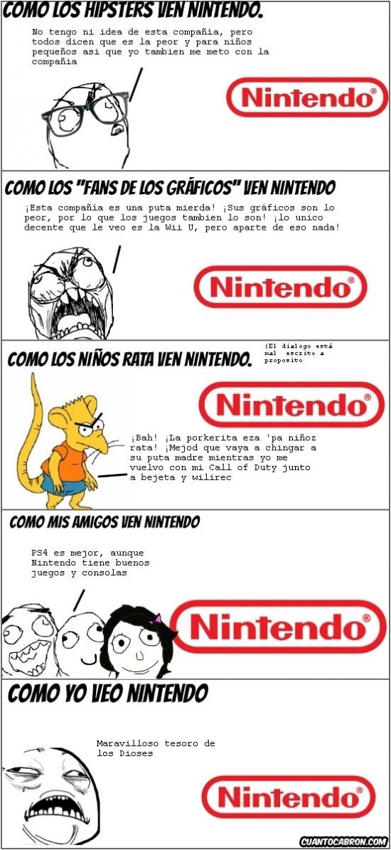 Mix - Diferentes formas de ver a Nintendo